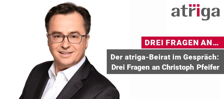 Ausgabe 18 Newsletter 2021-05-31 Drei Fragen An Christoph PfeiferBeitragsbild_DE